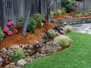 Landscaping installation by our Granite Bay sprinkler repair team